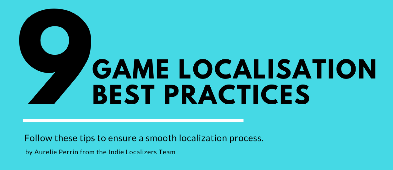 video game localization best practices
