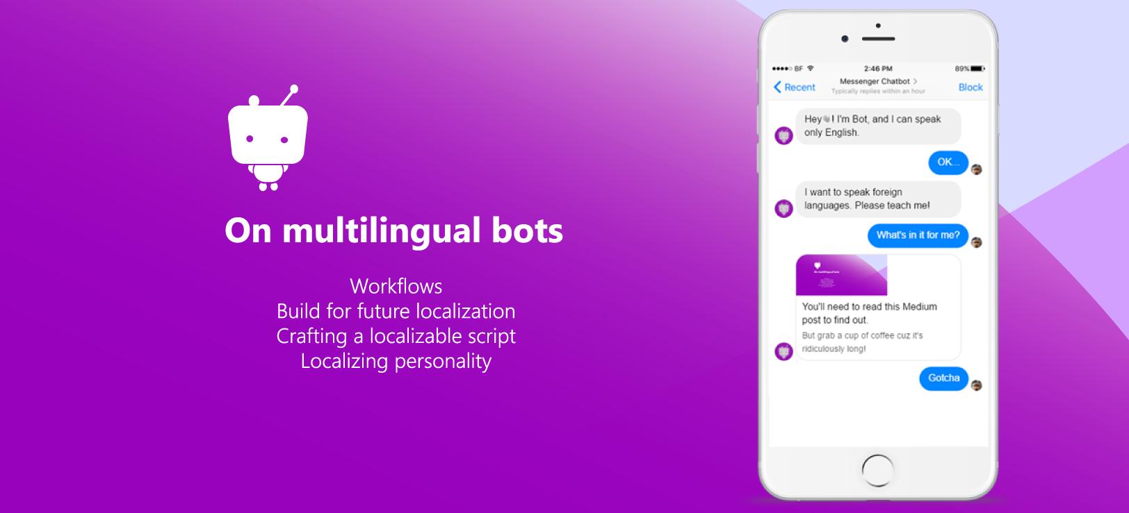 chatbot localization