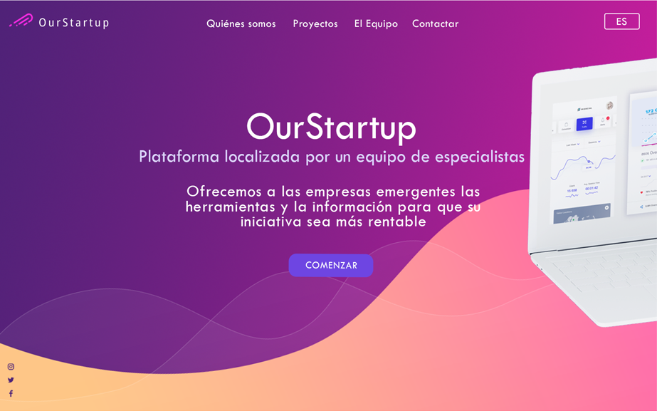 Web App Localization Spanish